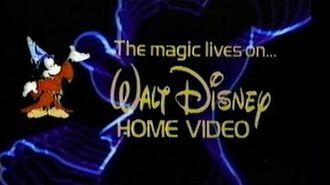 Walt Disney and You (1982) Promo