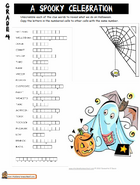 http://www.staidenshomeschool.com/activities/worksheets/halloween-ws-gr4