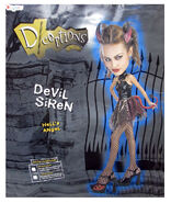 Disguise Womens 'Deceptions Devil Siren' Halloween Costume