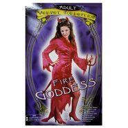 Fun World Womens 'Fire Goddess' Halloween Costume