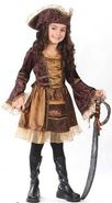 Victorian Pirate Girls Costume