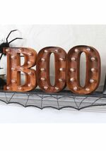 Lighted-boo-sign-letter-b