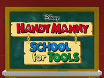 Handy Manny's School 4 Tools