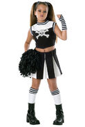 Gothic-bad-spirit-cheerleader-child-costume