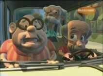 Old mans jimmy shun and Carl are mans