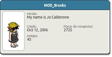 Perfil MOD Brooks