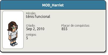 Perfil MOD Harriet