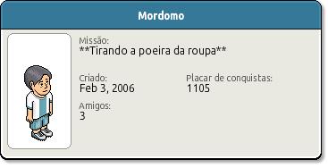 Perfil Mordomo