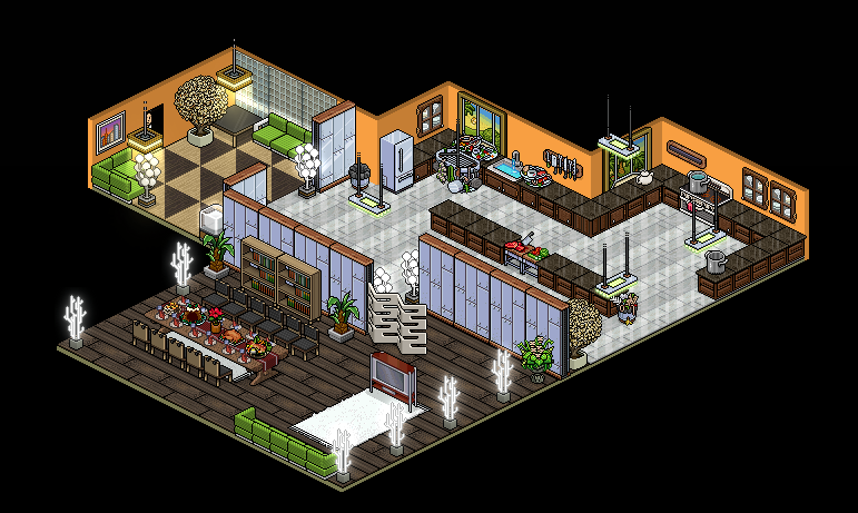 Habbo Hotel Room Ideas