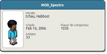 Perfil MOD Spectro