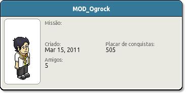 Perfil MOD Ogrock
