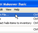Creating a local inventory in Habi Makeover
