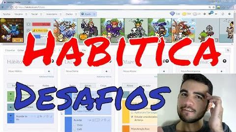 Habitica Desafios Rodrigo Nasc