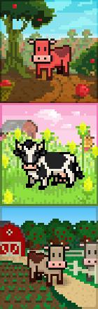 Promo cow