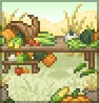 Background harvest feast