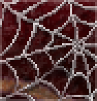Background spider web