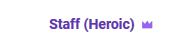 Heroic Tier Title