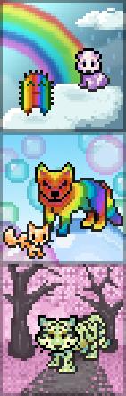 Promo rainbow potions