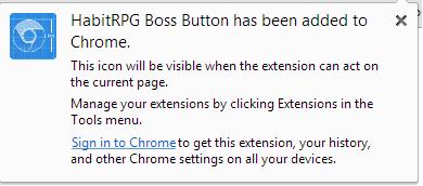 Boss button install