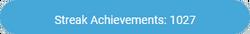 "A blue notification reads ""Streak Achievements: 1027"""