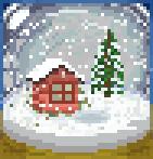 Background snowglobe