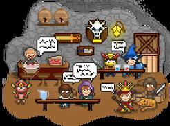 Scene tavern