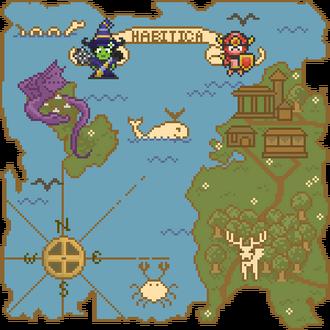 Scene habitica map