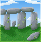Background stone circle