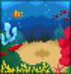 Background coral reef