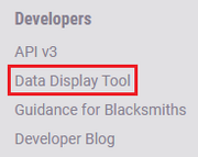 Data display tool