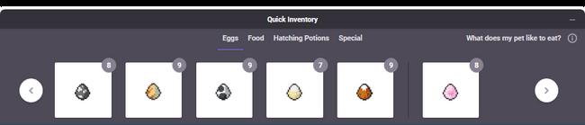 Market quick inventory