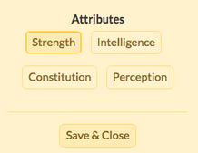 Attributeselection