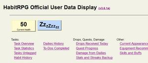 HabitRPG-Data-Display-Tool-Resting