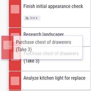 Rearranging Tasks