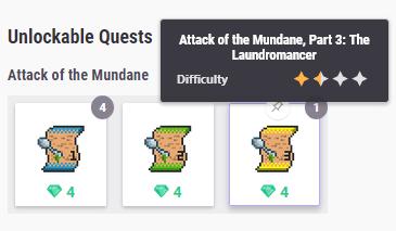 Quest unlockable info2