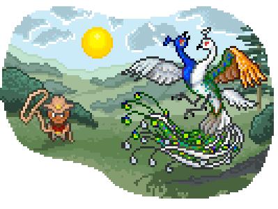 Promo peacock quest