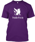 Habitica Gryphon Shirt-Purple