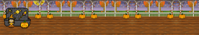 2018 FallFestival seasonal shop opened npc