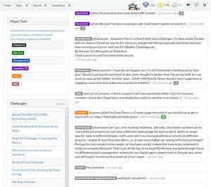 Unspool HabitRPG Chat Messages Screenshot