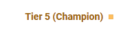 Champion Tier Title