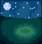 Background starry skies