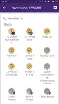Android Achievement badges