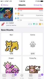 Mounts iOS (v. 1