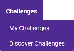 Toolbar Challenges Tab