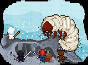 Promo beetle-larva