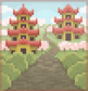 Background pagodas