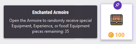 Enchanted Armoire Reward