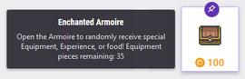Enchanted Armoire Reward