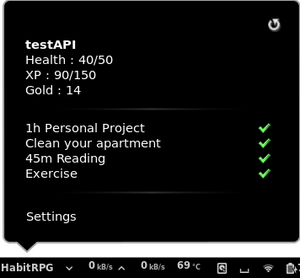 HabitRPGApplet
