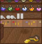 Background potion shop